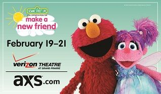 Sesame Street Live: Make A New Friend tickets at Verizon Theatre at Grand Prairie in Grand Prairie