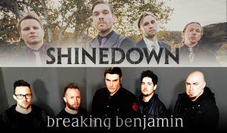 Shinedown & Breaking Benjamin tickets at The Joint at Hard Rock Hotel & Casino Las Vegas in Las Vegas