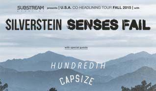 Silverstein & Senses Fail tickets at The Regency Ballroom in San Francisco