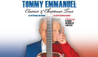 Tommy Emmanuel tickets at Arvest Bank Theatre at The Midland in Kansas City