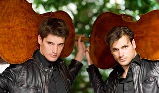 2CELLOS tickets at Temple Hoyne Buell Theatre in Denver