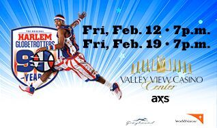 Harlem Globetrotters 2016 World Tour tickets at Valley View Casino Center in San Diego