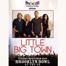 Little Big Town Tickets In London At Brooklyn Bowl London