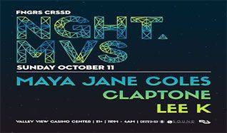 NGHT MVS tickets at Valley View Casino Center in San Diego