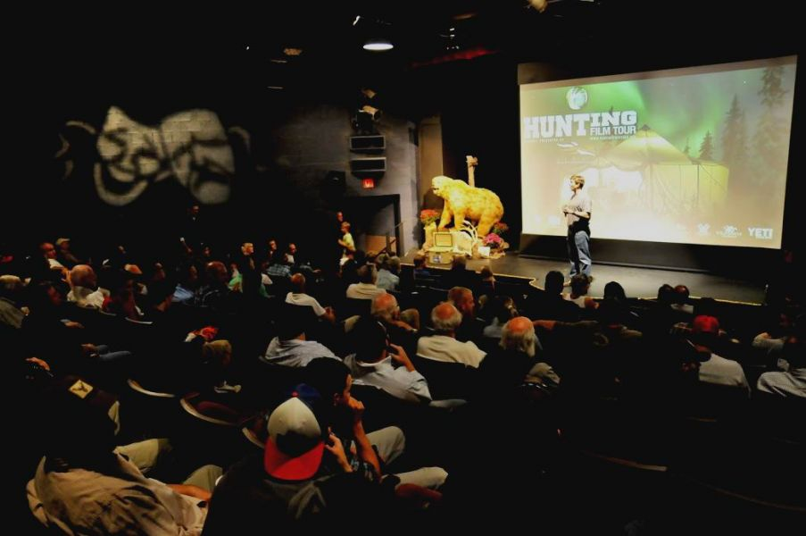 Last year had a near capacity crowd attend a great evening of film, friendship and free stuff!