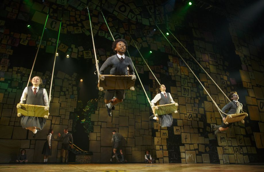 The upcoming tour of 'Matilda: The Musical'