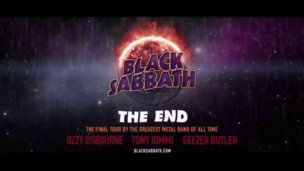 Black Sabbath announce final concert tour 'The End'