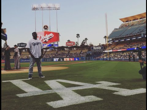 Watch T-Pain perform the national anthem at a Dodgers game sans auto-tune