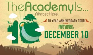 The Academy Is... tickets at Starland Ballroom in Sayreville