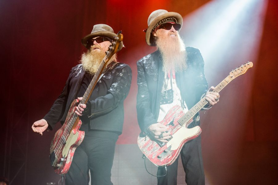 Grab your beards, legs and hats, it's ZZ Top at Louder Than Life (Photos)