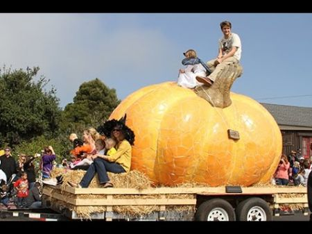 Gigantic gourds weigh in at Half Moon Bay festival, the World Pumpkin Capital