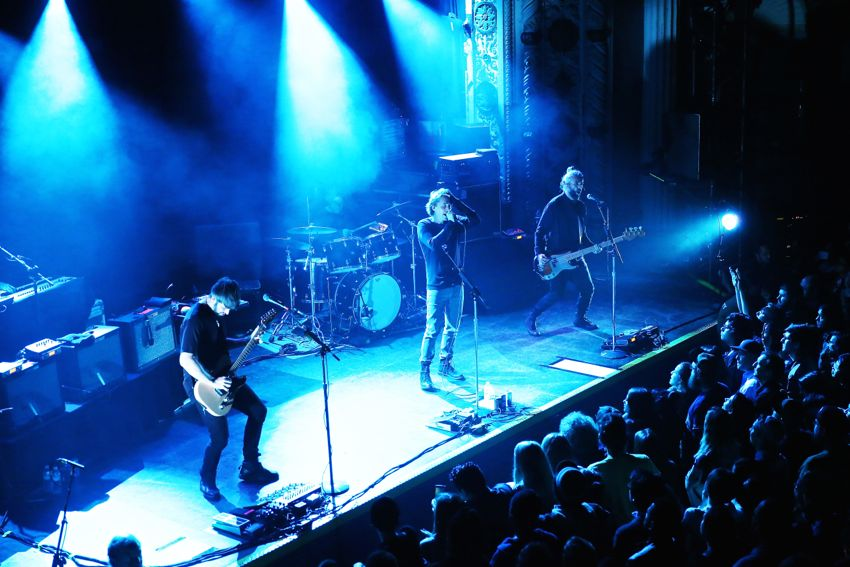Mew performs at Metro in Chicago, IL on Oct. 6, 2015.