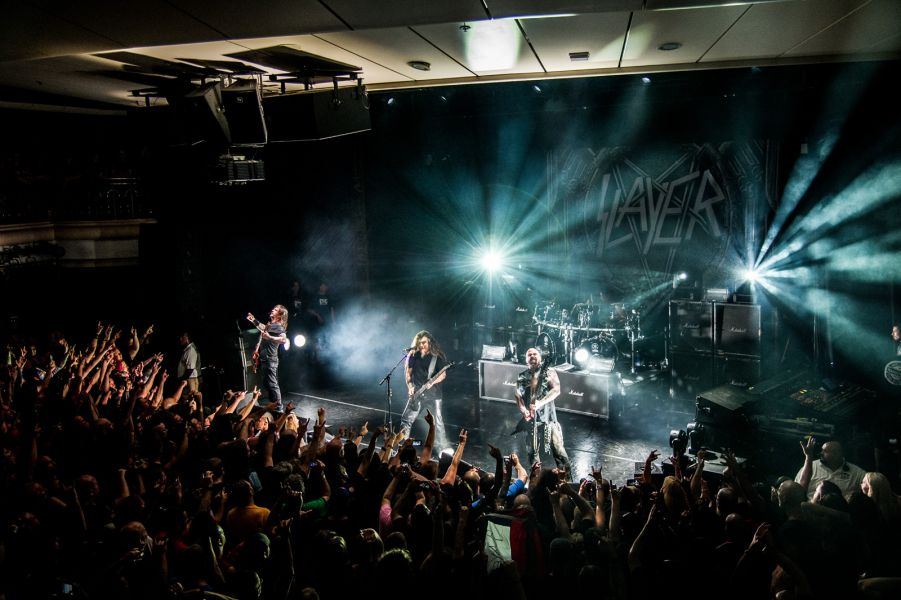 Slayer performs on Motörhead's Motorboat on the Norwegian Sky