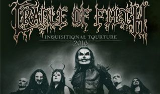 Cradle of Filth tickets at Gothic Theatre in Englewood