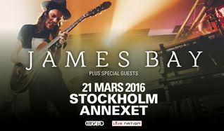 James Bay tickets at Annexet in Stockholm