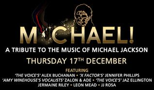 Michael! A Tribute to The Music of Michael Jackson tickets at indigo at The O2 in London
