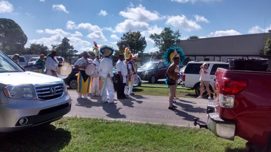 Junkanoo at the Oct. 3 Bahamian Connection Festival in Port Salerno
