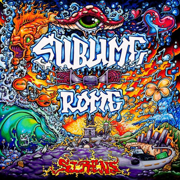 Cover art for Sublime with Rome's latest album, Sirens