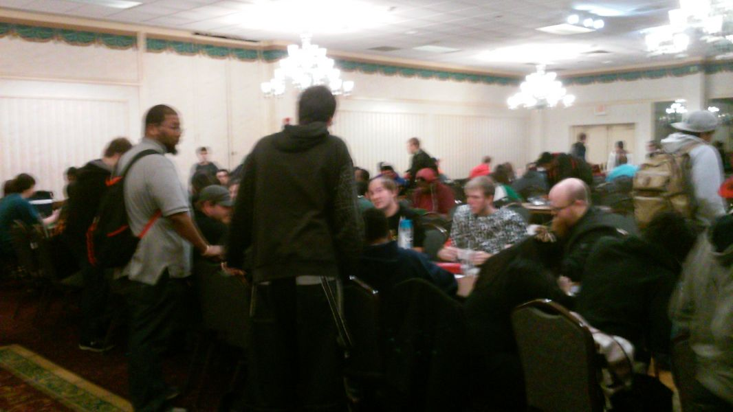 "The Francis Scott Key Holiday Inn of Frederick, Md. hosted a ""Yu-Gi-Oh!"" regional (above) qualifier on Oct. 4. A regional is set to take pla"