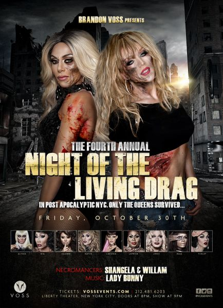 The Fourth Annual Night of the Living Drag