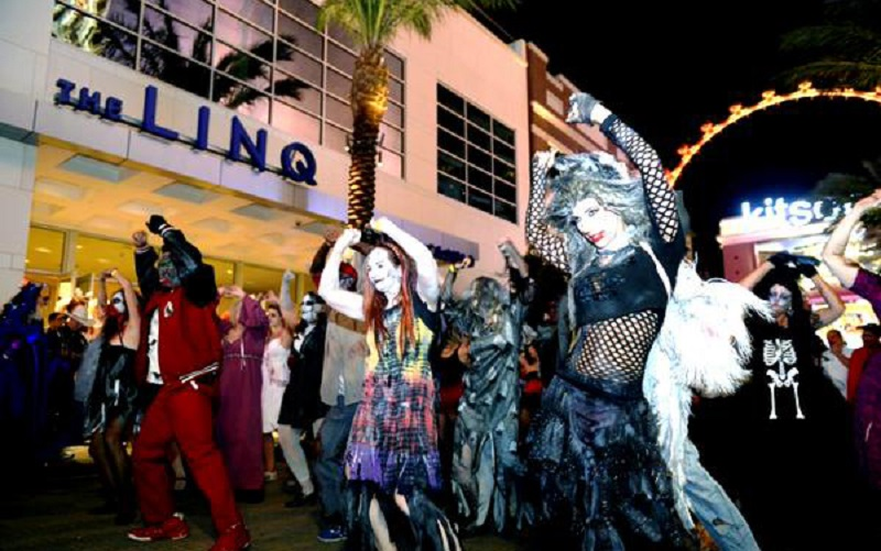 Image result for Halloween at the Linq