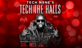 Tech N9ne's Tech The Halls tickets at Arvest Bank Theatre at The Midland in Kansas City
