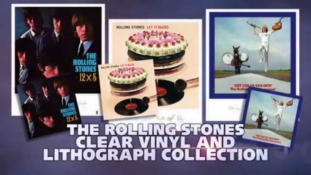 Rolling Stones album and lithograph sets released by Spotlight Gallery