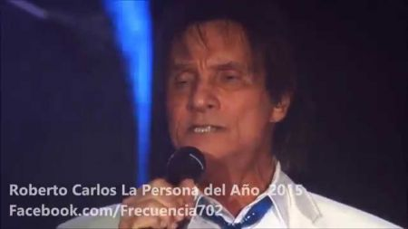 Artists pay tribute to Latin Recording Academy Person of the Year Roberto Carlos