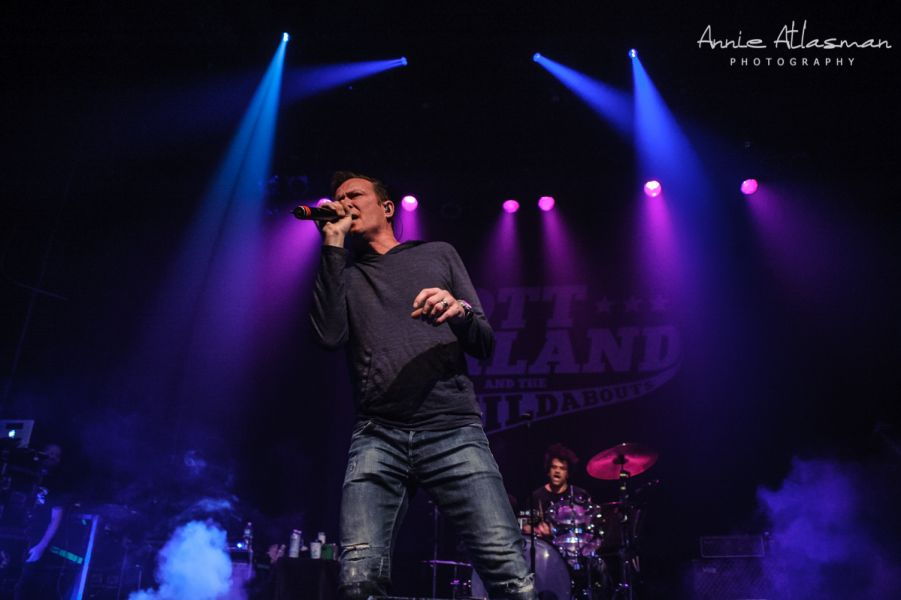 Scott Weiland and The Wildabouts perform at Gramercy Theater in New York City