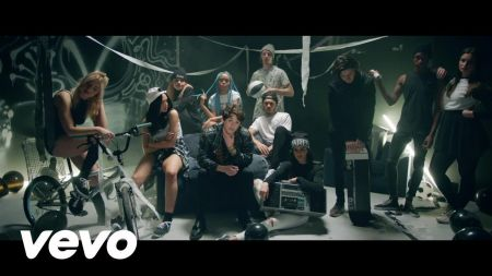 Celebrities party in The Vamp's 'Rest Your Love' music video