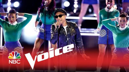 Watch: Pharrell Williams brings brightly-colored 'Freedom' to 'The Voice'