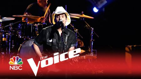 Watch: Brad Paisley makes 'The Voice' part of his 'Country Nation'