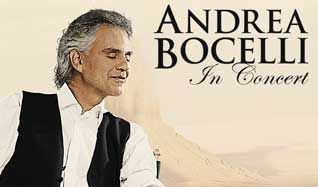 Andrea Bocelli tickets at Target Center in Minneapolis