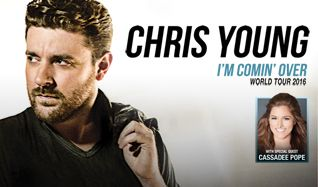 Chris Young tickets at Arvest Bank Theatre at The Midland in Kansas City