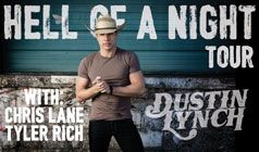Dustin Lynch tickets at Starland Ballroom in Sayreville
