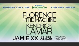 Florence + The Machine and Kendrick Lamar tickets at Hyde Park in London