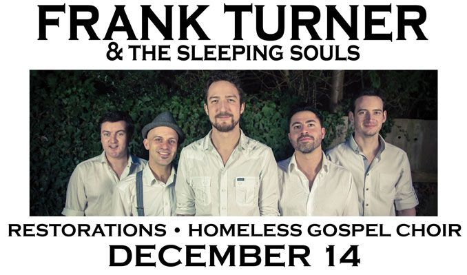 Frank Turner & the Sleeping Souls tickets at Starland Ballroom in Sayreville