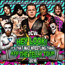 Insane Championship Wrestling Icw Pin Pals Tickets At