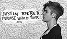 Justin Bieber tickets at O2 Arena, Prague