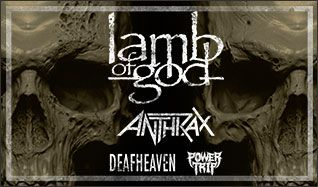 Lamb Of God tickets at Electric Factory in Philadelphia