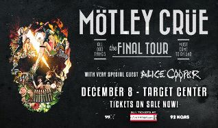 MÖTLEY CRÜE tickets at Target Center in Minneapolis