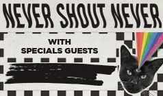 Never Shout Never tickets at Starland Ballroom in Sayreville