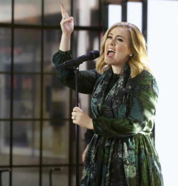 "Adele performed ""Million Years Ago,"" on the TODAY Show."