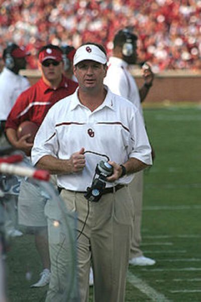 Bob Stoops Oklahoma Sooners have locked up a play-off spot