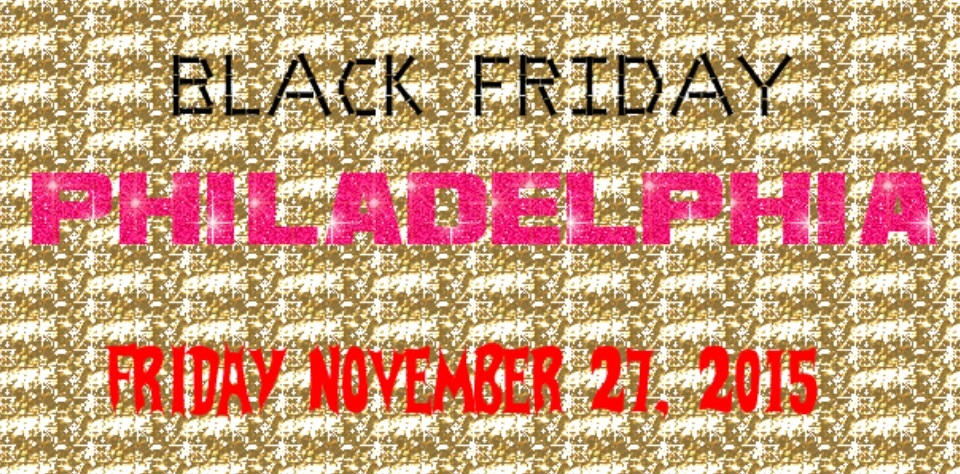 Black Friday means plenty of shopping. Don't forget, you can also attend various events in Philadelphia on Nov. 27.