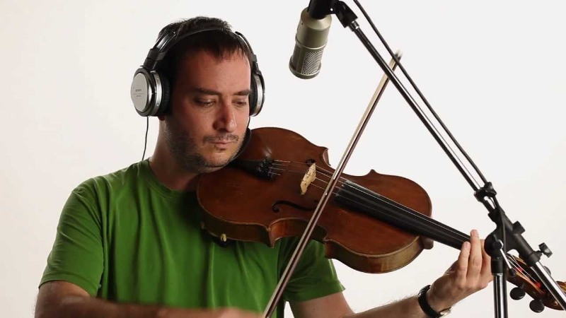 Composer Benjamin Shwartz fuses sounds from all over the world to create his music.