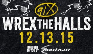 91X WREX The Halls  tickets at Valley View Casino Center in San Diego