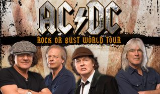AC/DC tickets at Sprint Center in Kansas City