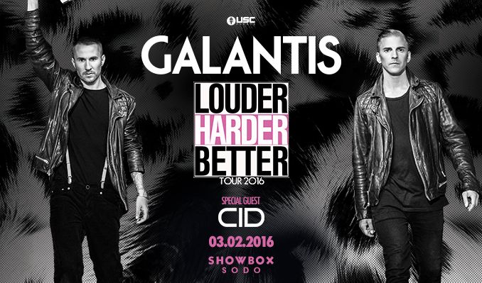 Galantis tickets at Showbox SoDo in Seattle