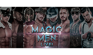 Magic Men tickets at The Warfield in San Francisco